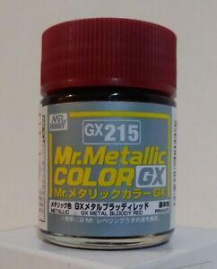 Gunze Sangyo Mr Metallic Color GX-215, Metal Bloody Red.