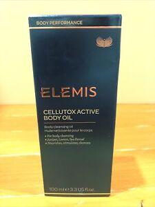 Elemis spa home Cellutox Active Body Oil  3.3fl oz / 100 ml. NEW