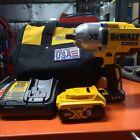 "DEWALT 20V Max XR Brushless High Torque 1/2"" Impact Wrench 5Ah Battery DCF899 M1"