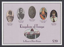 Tonga Sc 1189 MNH. 2012 $20 Tongan Royalty, imperf souv sheet, VF+