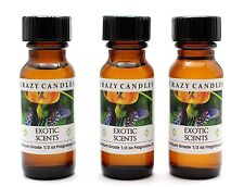 3 Exotic Scents R (Poppy Coach Type) 1/2oz Premium Grade Fragrance Oil