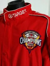 Vintage Firestone Target CART/FEDEX Chip Ganassi Racing Jacket Red Men Size L