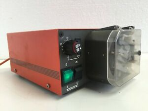 Watson Marlow Peristaltic Pump 302S 220 RPM Variable Speed Drive for lab