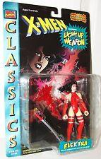 X-Men Classics Elektra w/ Light-up Ninja Blade Weapon  - Toy Biz 1996