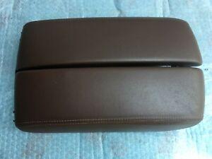 AUDI A8 S8 A8L FRONT CONSOLE ARM REST ARMREST BROWN OEM 4H0864206