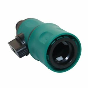 Lawn Irrigation Hose Pipe Connector Garden Water Tap Valve Adapter Quick Fitting