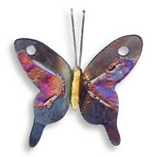 Recycled Metal Butterfly Wall Hanging (Small) - Handmade in Mexico - Fair Trade