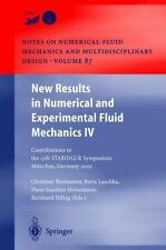 New Results in Numerical and Experimental Fluid Mechanics IV : Contributions...