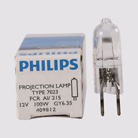 For TYPE 7023 FCR 12V 100W GY6.35 / Microscope / Projector Halogen bulb