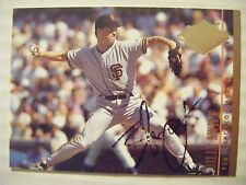 BILLY SWIFT signed GIANTS 1994 Fleer Ultra baseball card AUTO Autographed #294