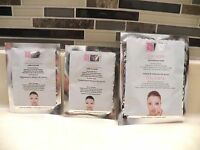 Global Beauty Care Collagen 1 Spa Treatment Mask & 2 pair Under-Eye Pads Ipsy