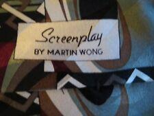 Martin Wong - Screenplay Silk Tie-USA