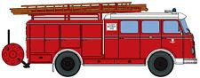 Maquette de voiture H0 Heico HC2020: Pompier Véhicule de lutte contre L'incendie