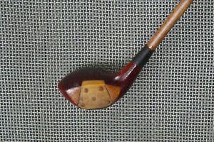 Antique Vintage Hickory Shaft Inserted Brassie 12* C 7