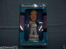 Curt Schilling Greensboro Hornets Bats 2003 ltd edition Bobble Head bobblehead