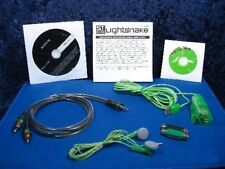 LIGHTSNAKE STUSBST STEREO USB AUDIO COMPUTER INTERFACE CABLE BY SOUNDTECH