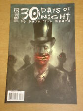 THIRTY 30 DAYS OF NIGHT 30 DAYS TIL DEATH #3 RI COVER 2009 IDW BEN TEMPLESMITH