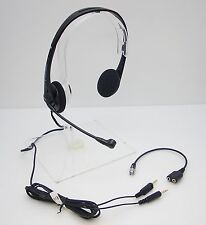 T322 Headset for Polycom 300 301 335 430 450 500 501 550 560 600 601 650 & CX300