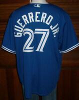 Majestic Cool Base Toronto Blue Jays Vladimir Guerrero Jr. Jersey Sz 2XL NEW NWT