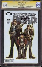 Walking Dead # 3 CGC 9.4 White SS (Image, 2003) Signed by Tony Moore, 1st Andrea