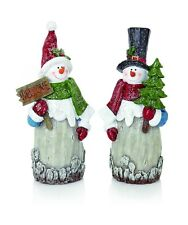 Christmas Decoration Christmas Snowman Ornament Frosty Figurine 36cm Height