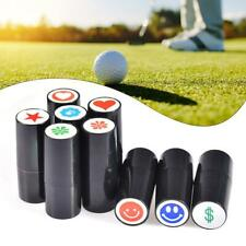 1Pc Plastic Colorfast Quick-dry Golf Ball Stamp Stamper Marker Impression Seal