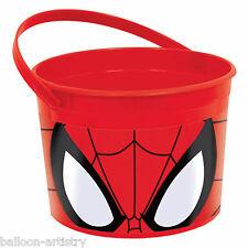 3 Marvel Ultimate Spider-man Festa di Compleanno Plastica favore fissi Contenitori
