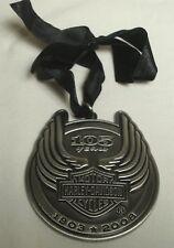 Harley-Davidson 105th Anniversary Pewter Ornament 2008 Pendant Rare Limited Ed