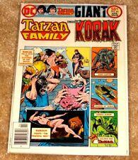 DC COMICS #62 TARZAN FAMILY & KORAK GIANT NICE MID HIGH GRADE BAGGED & BOARDED