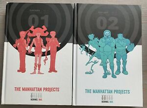 Manhattan Projects Deluxe Edition Volume 1 & 2 Hardcover Image Comics Hickman