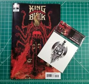 KING IN BLACK #1 (2020) Marvel NM+ 1:25 Superlog Variant Cates w/ Tattoo SALE