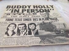 Buddy Holly  IN PERSON . CBF's 1025