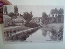 Vintage Postcard HAZEBROUCK Vue Sur Le Canal  LL 25 Albert Haeuw Edition Special