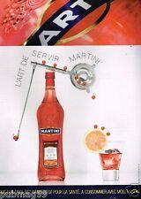 Publicité advertising 2007 Apéritif Martini