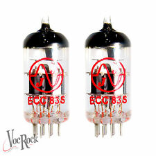 JJ ECC83 MATCHED PAIR 12AX7 Preamp Tube set  (2 VALVES) JJ ELECTRONIC ECC83S