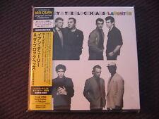 2 MINI LP HDCD IAN DURY - LAUGHTER  / JAPAN EDIT WITH OBI / neuf & scellé