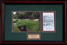 Augusta National-Masters Practice Round Ticket Holder