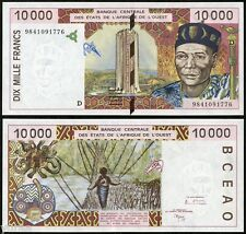 West African States / Mali - 10000 Francs 1998 UNC Pick 414Dg, sign 29