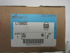 """New Cooper Crouse-Hinds LT300DC 3"""" Connector"""