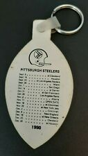 Stefans 1990 PITTSBURGH STEELERS Schedule Key Chain Lock & Key Shop Somerset PA