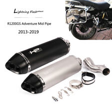 2013-2019 R1200GS Adventure Exhaust Pipe for BMW Motorcycle 51mm Dual-outlet Tip