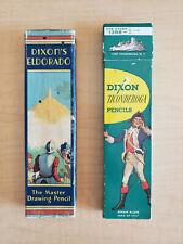 Vintage Dixon Ticonderoga & Eldorado Pencils