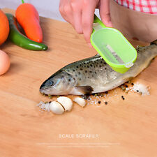1PC Home Kitchen Fast Fish Scales Skin Remover Scaler Cleaner Clean Tool