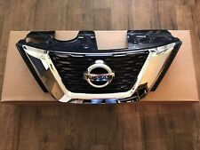 Rogue 2017-2018 OEM Front Bumper Grille Upper Grille NON Camera Type With Emblem