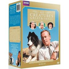 All Creatures Great And Small Complete Series Seasons 1 2 3 4 5 6 7 DVD Box Set