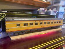 New Mth 20-6523. 70' Scale Union Pacific Streamlined 2-car Passenger set Nib