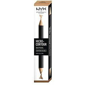 NYX PROFESSIONAL MAKEUP Micro-Contour Duo Pencil Medium Deep MCDP03 0.1 Ounce