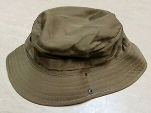 New Genuine SADF South African Army Issue Specifico Nutria Brown Bush Hat 62cm