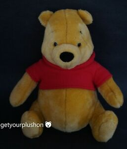 WINNIE THE POOH 100 ACRE COLLECTION PLUSH BY GUND