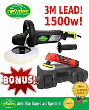 POLISHER CAR BUFFER 1500W 180MM SANDER ELECTRIC CORDLESS MINI VARIABLE